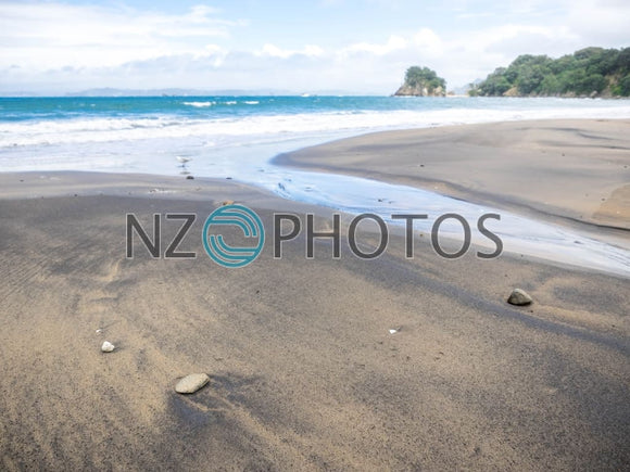 Matapaua Bay Stock Photo