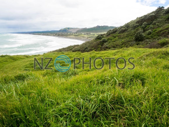 Muriwai Coast Stock Photo