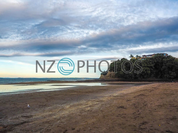 Long Bay Beach Stock Photo