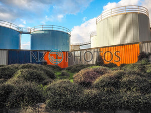 Auckland Silo Park Stock Photo