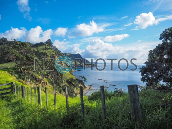 Te Rere Bay Stock Photo