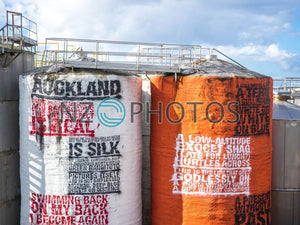 Wynyard Quarter Silo Park Stock Photo