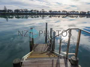 Judges Bay In Parnell Stock Photo