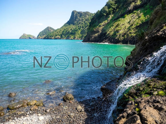 Waitakere Ranges Coastline Stock Photo