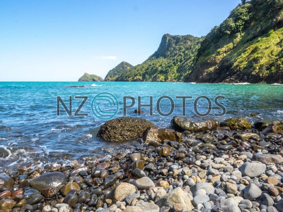 Makaka Bay Beach Stock Photo