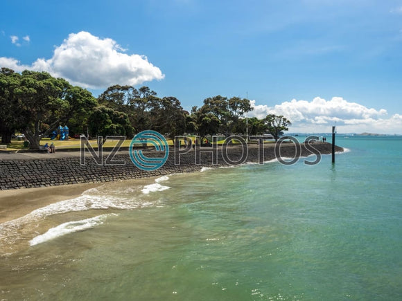 Devonport Beach Stock Photo