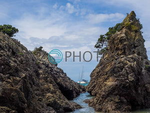 Oneroa Bay Stock Photo