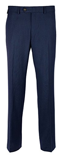 RALPH LAUREN Men's Comfort Flex Slim Fit Flat Front Dress Pants-B-40Wx32L