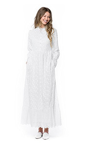 ModWhite White Magnolia Dress