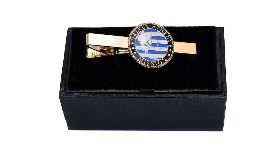 Custom Mission Tie Clips with Box (Min Order 25) - Zions Marketplace