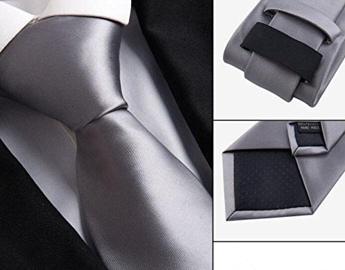 Weishang Pack of 6 Men's Classic Tie Silk Necktie Woven Jacquard Neck Ties (Set 11)