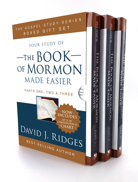 Book of Mormon Made Easier Box Set (With Chronological Map) - Zions Marketplace