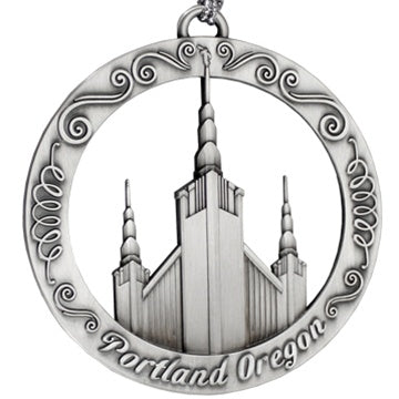 Portland Oregon Temple Ornament