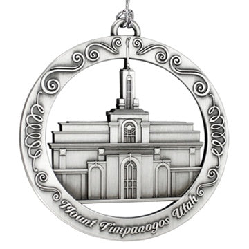 Mount Timpanogos Temple Ornament