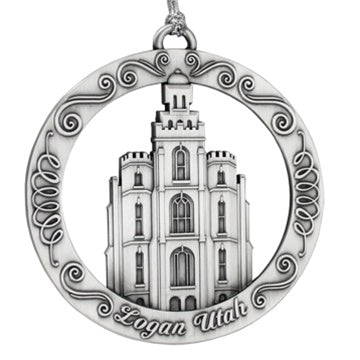 Logan Utah Temple Ornament - Zions Marketplace