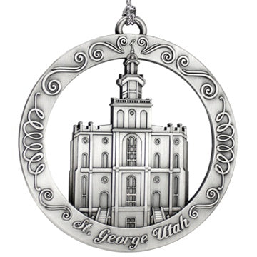 St. George Utah Temple Ornament