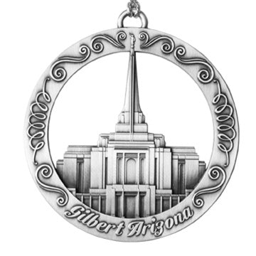 Gilbert Arizona Temple Ornament - Zions Marketplace