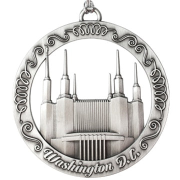 Washington DC Temple Ornament