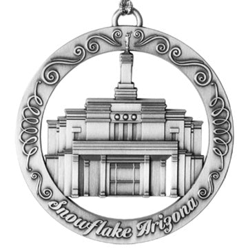 Snowflake Arizona LDS Temple Ornament