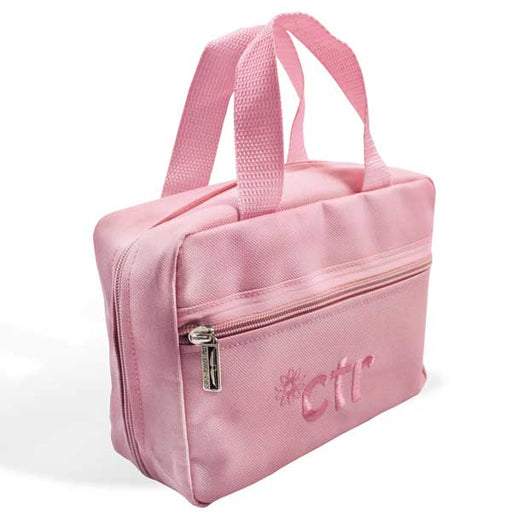 Tote CTR Chunky Flower Pink