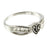 Bow CTR Ring - Silver, Sterling Silver, Yellow Gold - Zions Marketplace