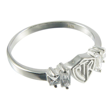 Baguette CTR Ring - Zions Marketplace