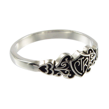 Filigree CTR Ring - Silver - Zions Marketplace