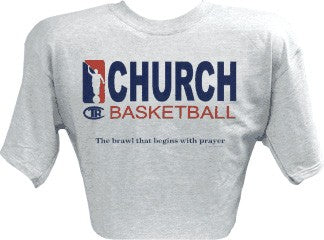 Church Basketball T-Shirt - Zions Marketplace