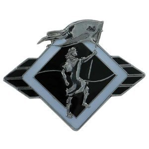 1050CMBK Captain Moroni Black Pin - Zions Marketplace