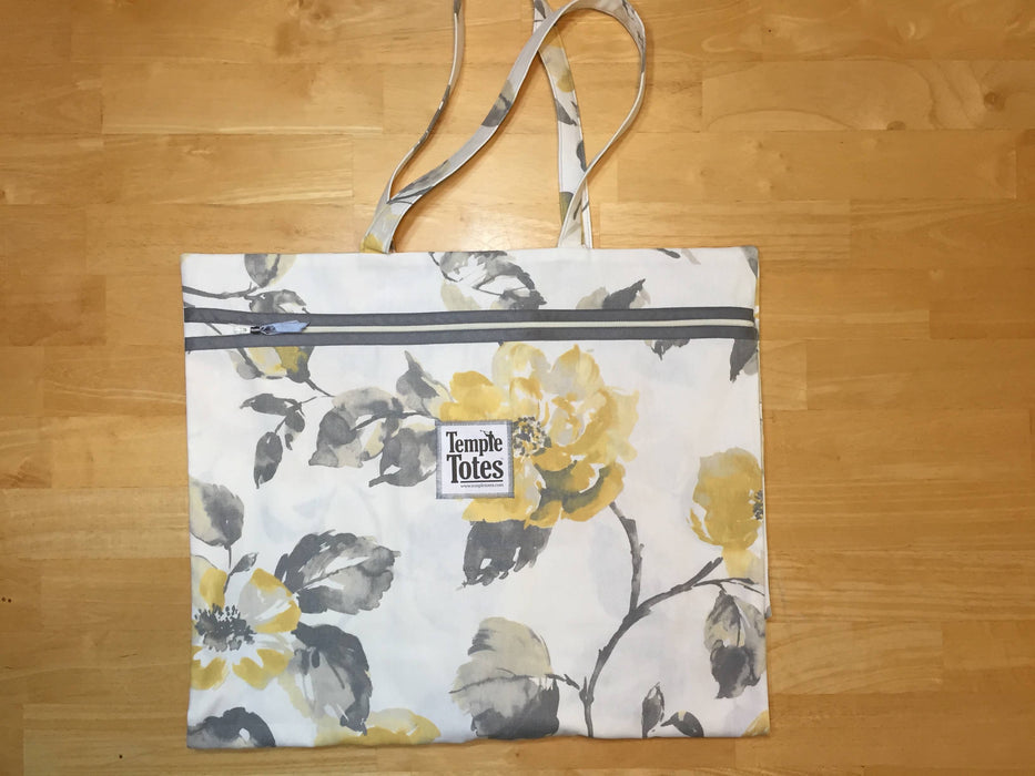 TempleTotes LDS Temple Bag - Golden Rose