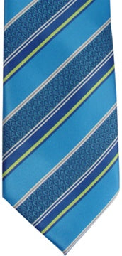 Tie,CTR Adult Stripe Blue