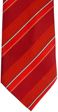Tie, CTR Adult Stripe Red