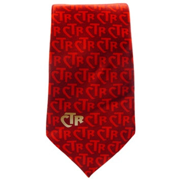 Tie,Ctr Club Red