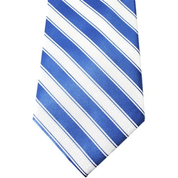 Men's Blue & White CTR Tie - Zions Marketplace