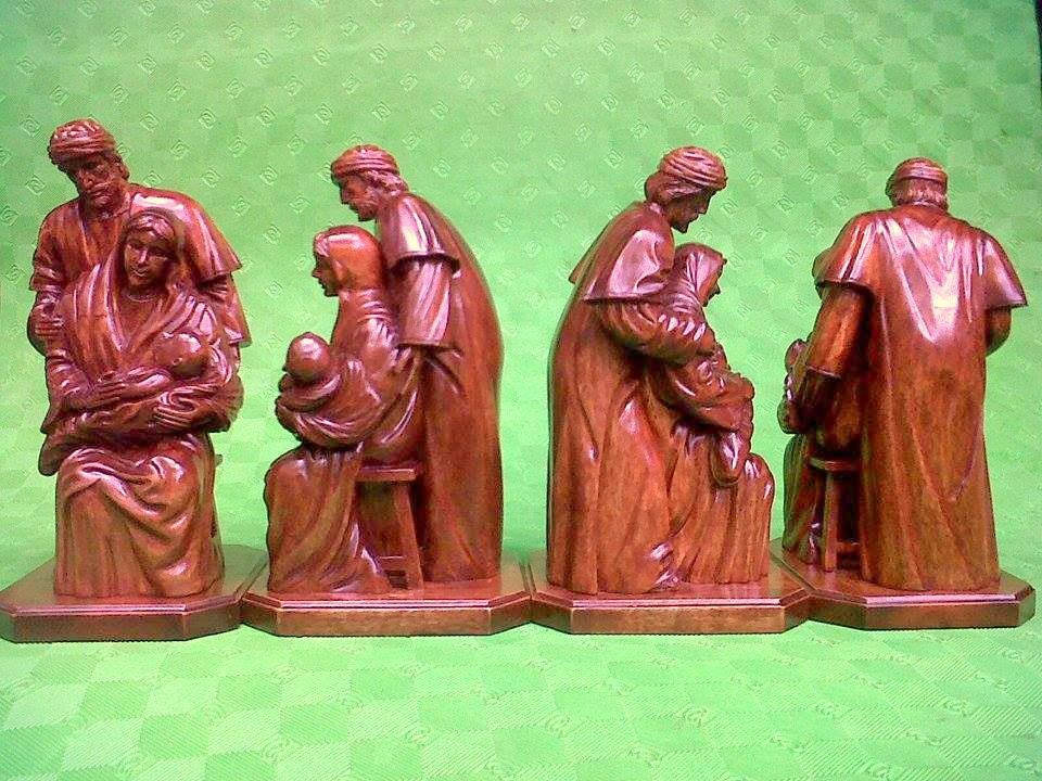"The Holy Family (12"" tall)"