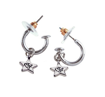 Earrings, CTR Star Set Slv - Zions Marketplace
