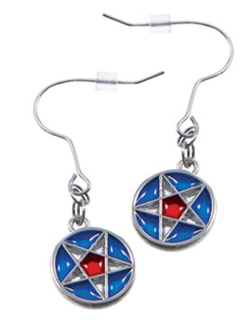LDS Nauvoo Star Window Earrings - Zions Marketplace