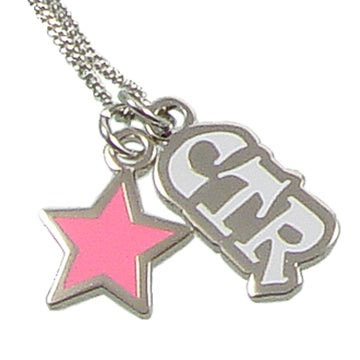Necklace, CTR Pink Star
