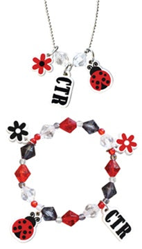 CTR, Ladybug Bracelet/Necklace - Zions Marketplace
