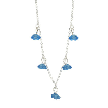 Necklace, Forget Me Not Charm