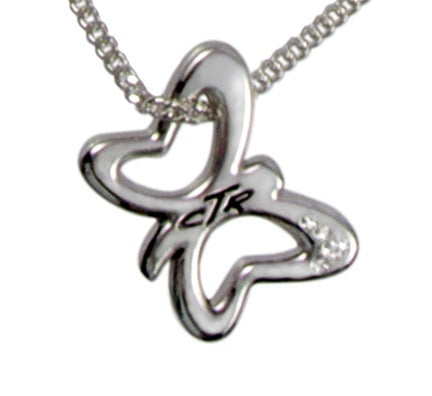 CTR Butterfly Necklace - Zions Marketplace
