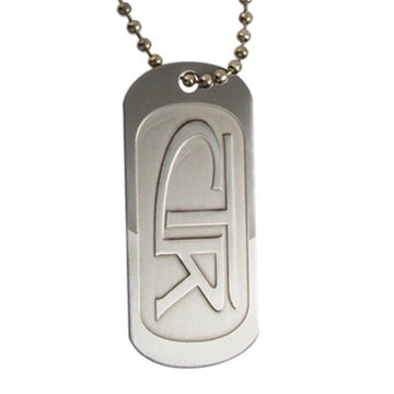 CTR Regular Dog Tag Necklace - Zions Marketplace