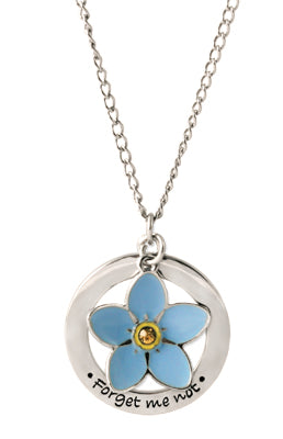 Necklace, Forget Me Not