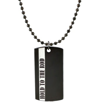 Hold to the Rod Dog Tag - Zions Marketplace