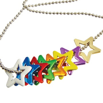 Young Women Values Star Charms Necklace
