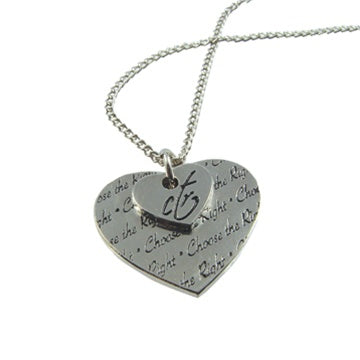Necklace, CTR Double Heart