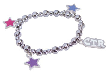 Bracelet, CTR Star Stretch Bead - Zions Marketplace
