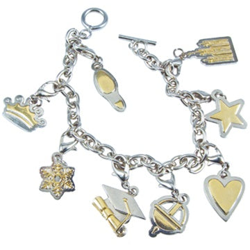Young Women Values Charm Bracelet