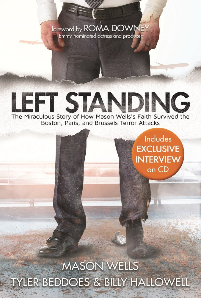 Left Standing Hardback Deluxe with CD - Zions Marketplace