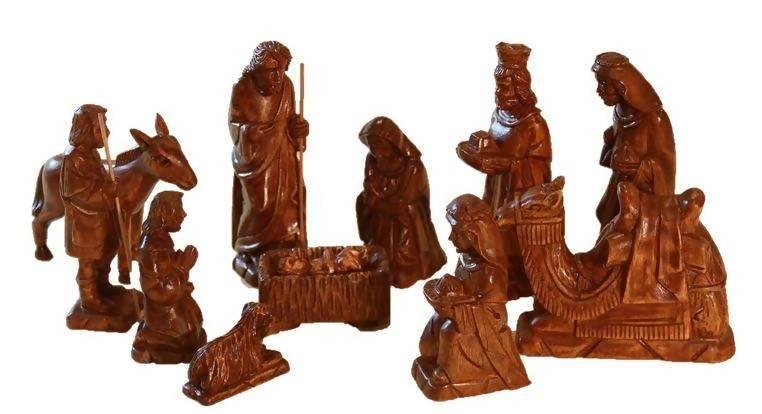 "12-Piece Philippines Nativity (5""-7"" figurines) - Zions Marketplace"